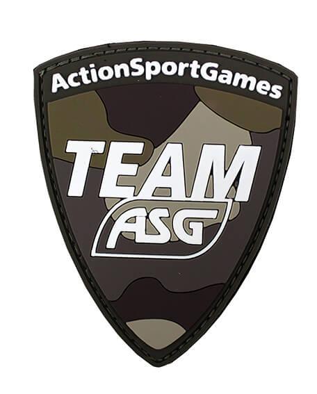 Team ASG Patch (PVC) - Tan Multicam