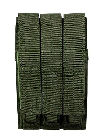 Trippelmagasintaske, Mp5 grøn