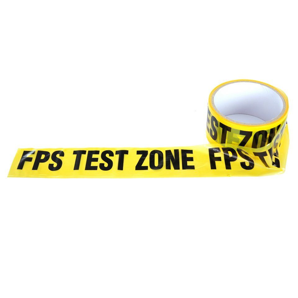 Image of   FPS Test Zone, Tape