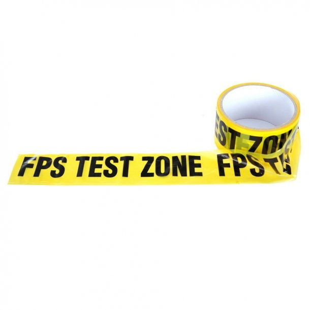 FPS Test Zone, Tape