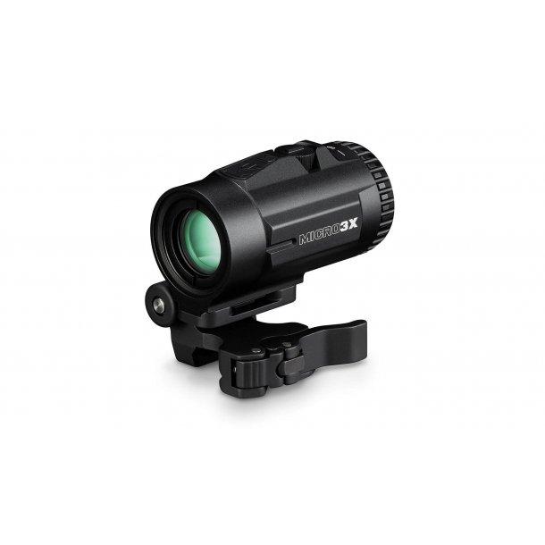 Vortex Micro 3X Magnifier m/ sving montage