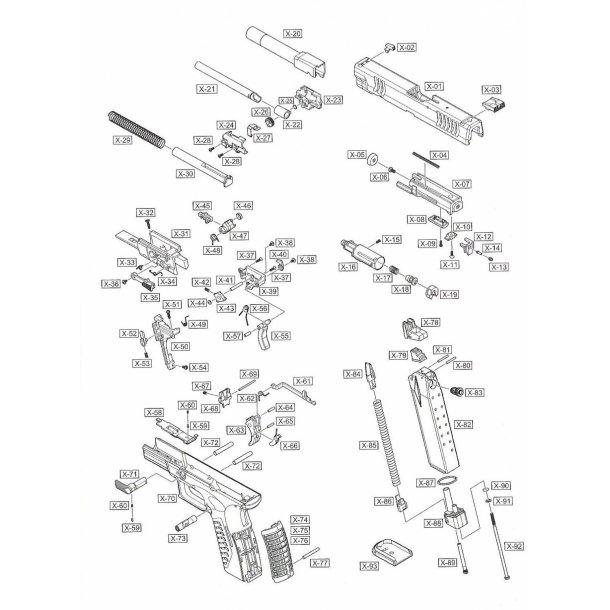 Cylinder fjeder del 42