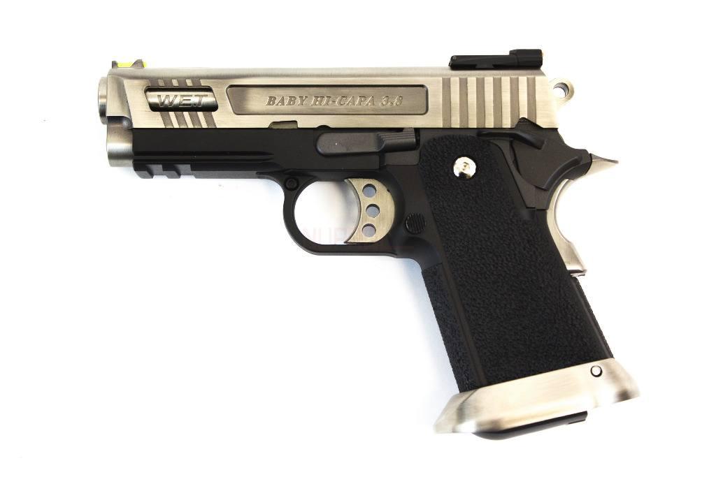 E Force Gen2 Hi Cappa 3.8 Silver Pistol