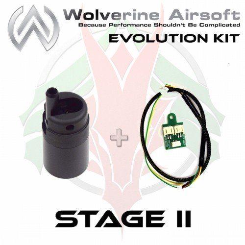 Stage 2 Evolution kit til F2000, nozzle, ledningsnet, trigger