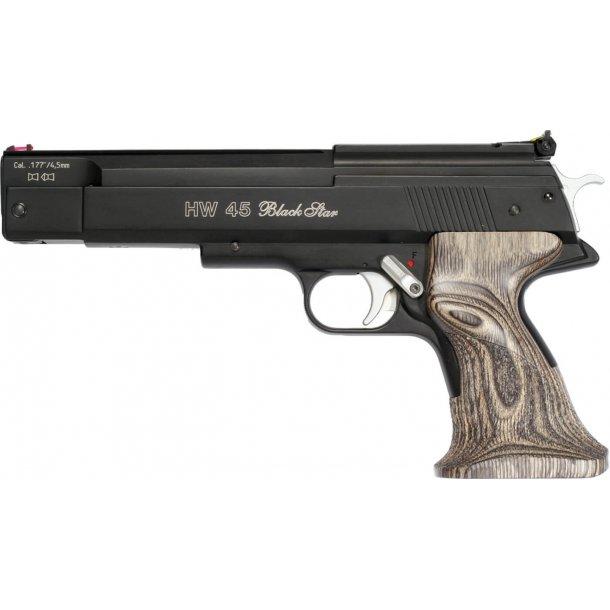 Weihrauch HW 45 Black Star, Luftpistol, 4,5 mm