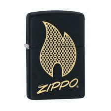 Zippo Price Fighter Script Logo, Lighter