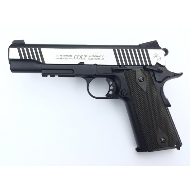 Colt M1911 Blackened, Dual Tone, CO2