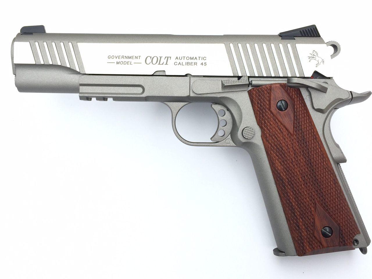 Billede af Colt M1911 Stainless, CO2