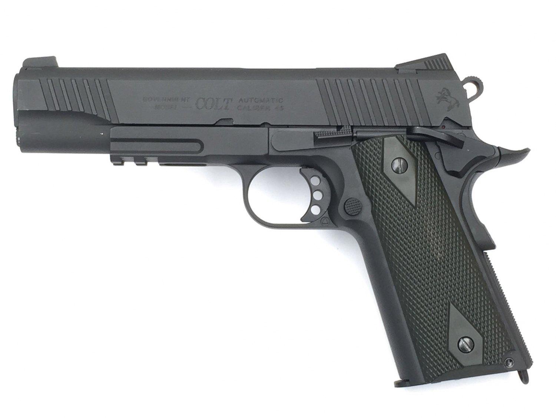 Billede af Colt M1911 Blackened, Sort, CO2