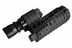 Lygte M500A til M4, sort