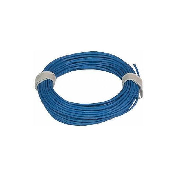 1meter Ledning 0,25mm Blå