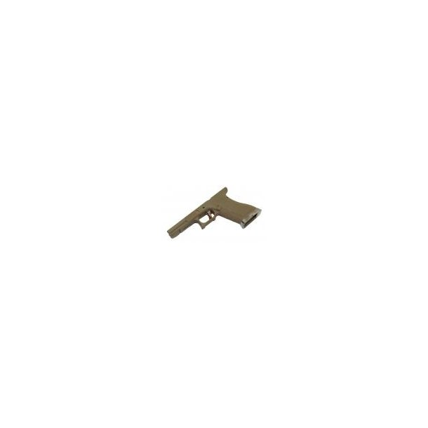 EU Series Lower Frame Kit Tan til G17/18/34/35